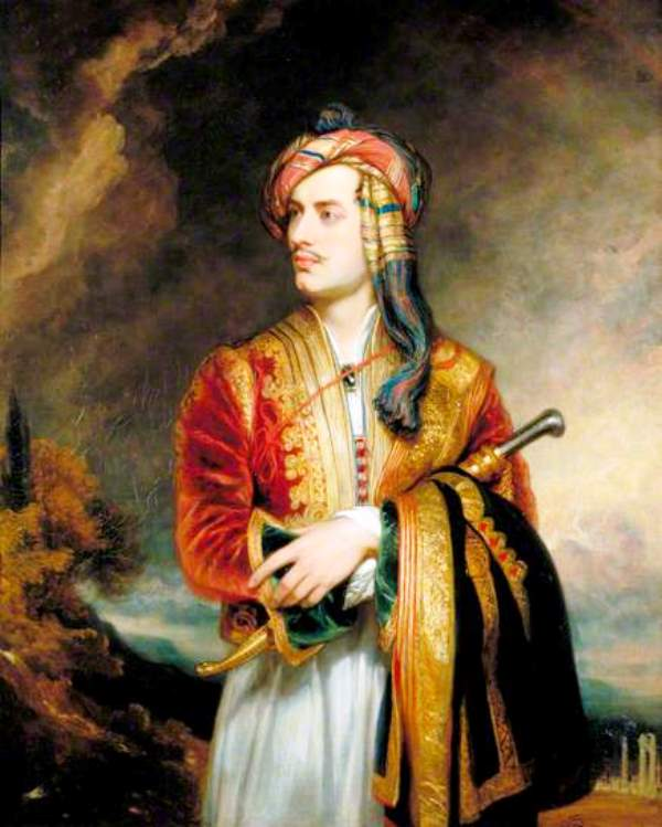 Thomas Phillips -Lord Byron