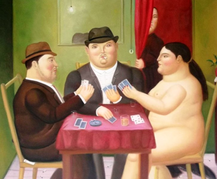 10-Botero-giocatori-di-carte