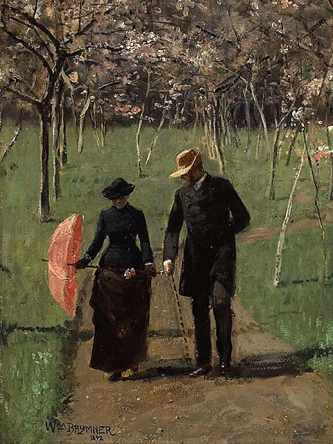 In_the_Orchard_(Spring)_-_William_Brymner