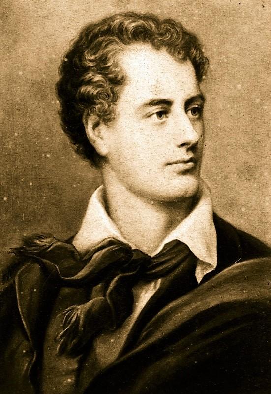 Byron Lord poète anglais romantisme mémoire