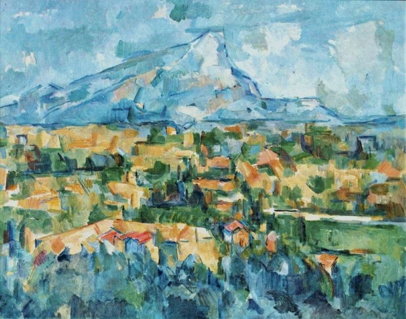sainte victoire montagne cézanne
