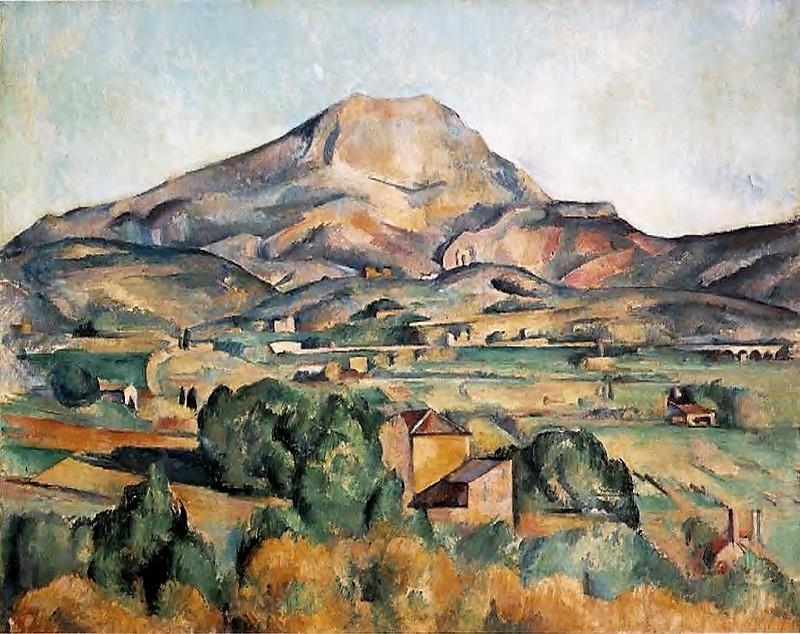 cézanne paul montagne