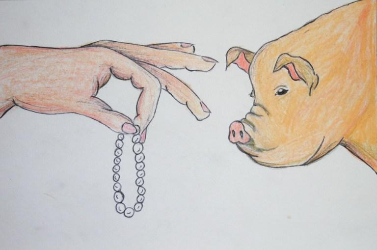 perles cochons