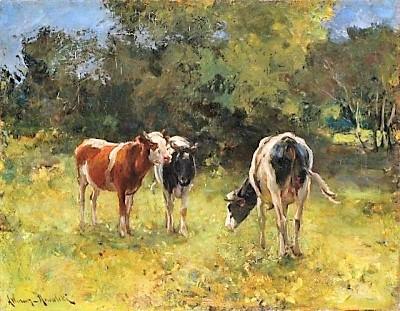 leon wyczolkowski krowy