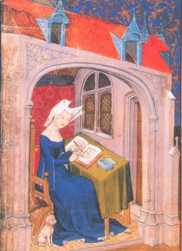 Christine de Pisan poète écrivain