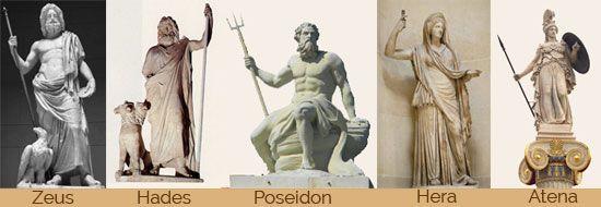 grecja, bogowie, olimpe